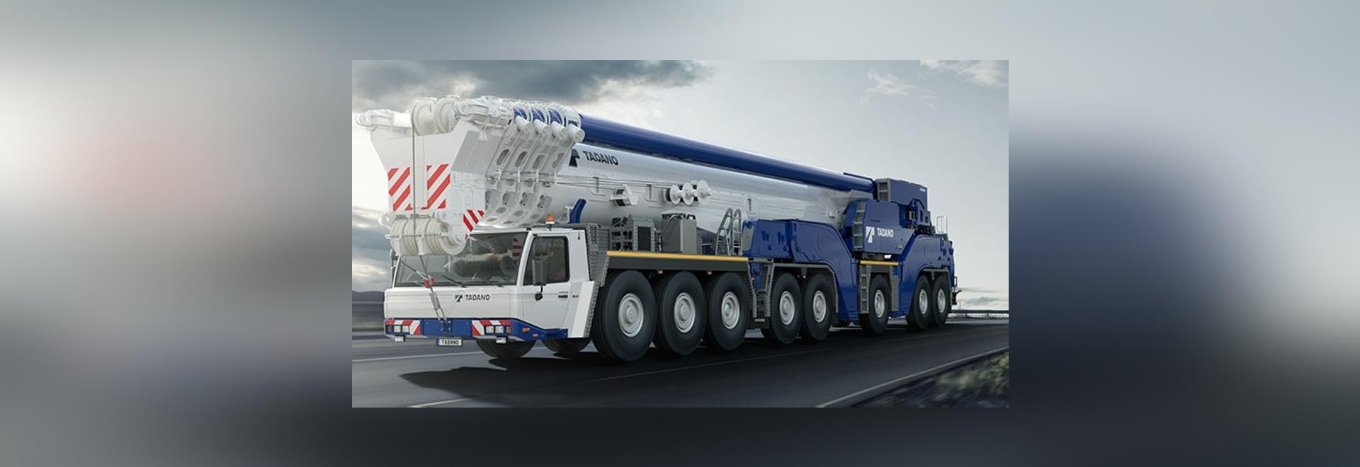 NEW: telescopic crane by TADANO FAUN - TADANO FAUN