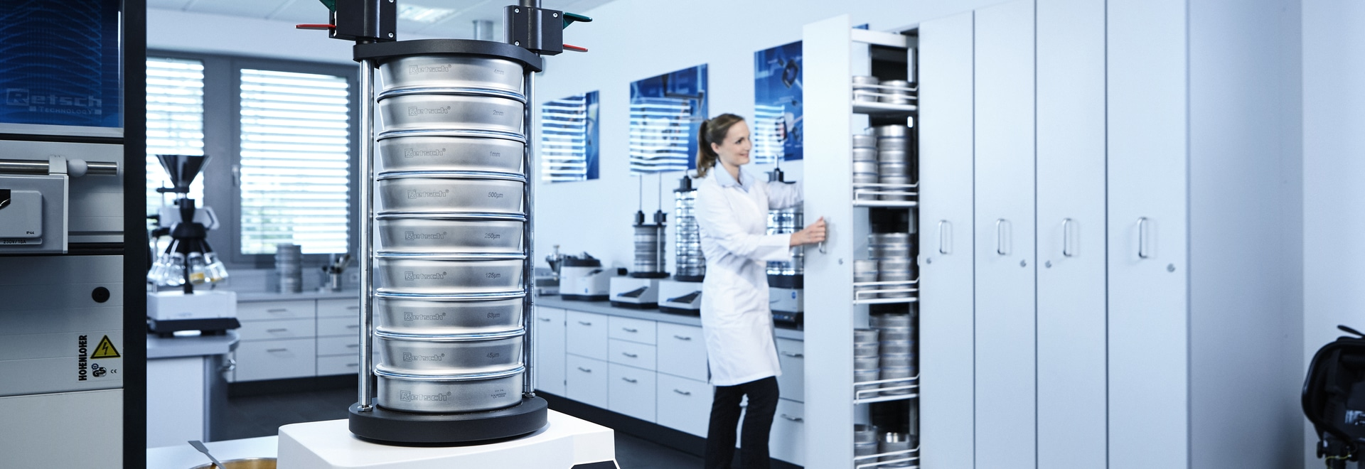 New vibratory sieve shakers make sieve analysis more convenient