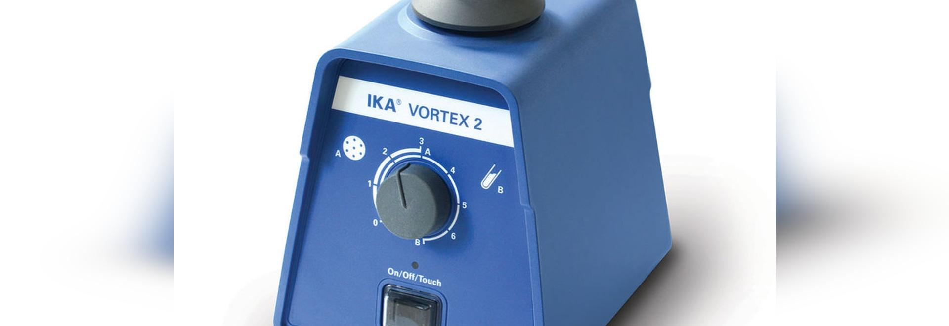NEW: vortex shaker by IKA