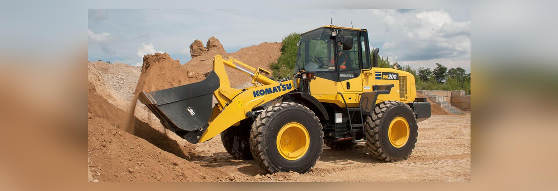 NEW: wheel loader by Komatsu Construction and Mining Equipment