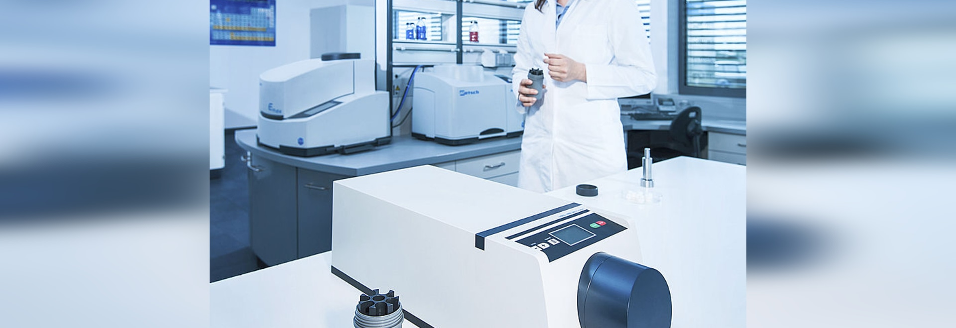 NEW: XRD-Mill McCrone – Rapid Particle Size Reduction for X-Ray Diffraction