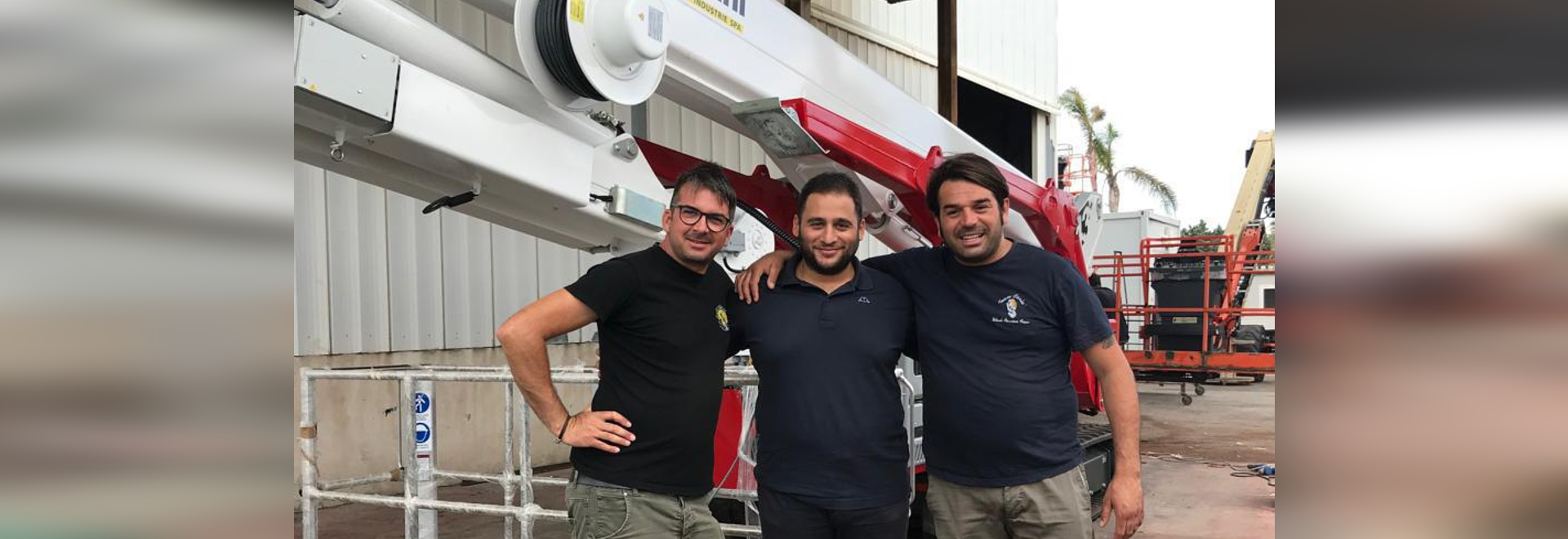 One Palazzani crawler Spider Lift goes to Puglia (Southern Italy)