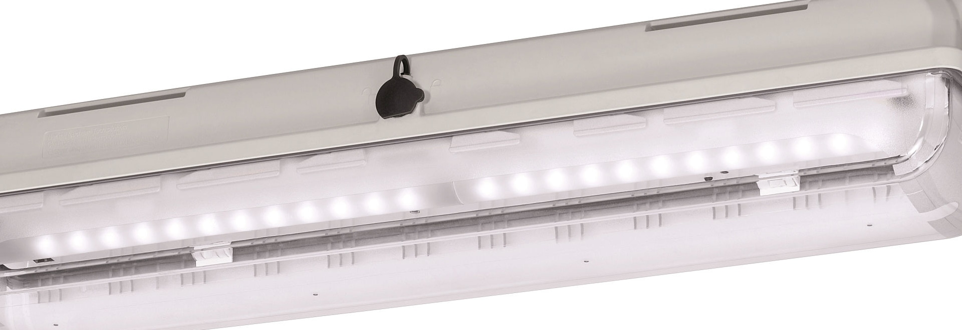Optimum light yield, proven housing for ex zones: Light-weight, durable LED lights for general lighting purposes