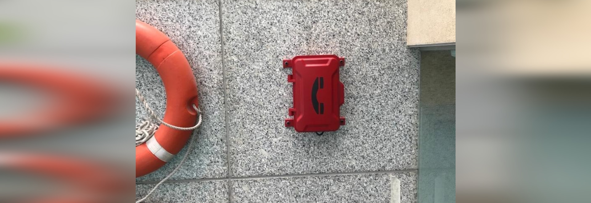 Our JR101-CB emergency phone was installed at the Hilton Hotel in Peru