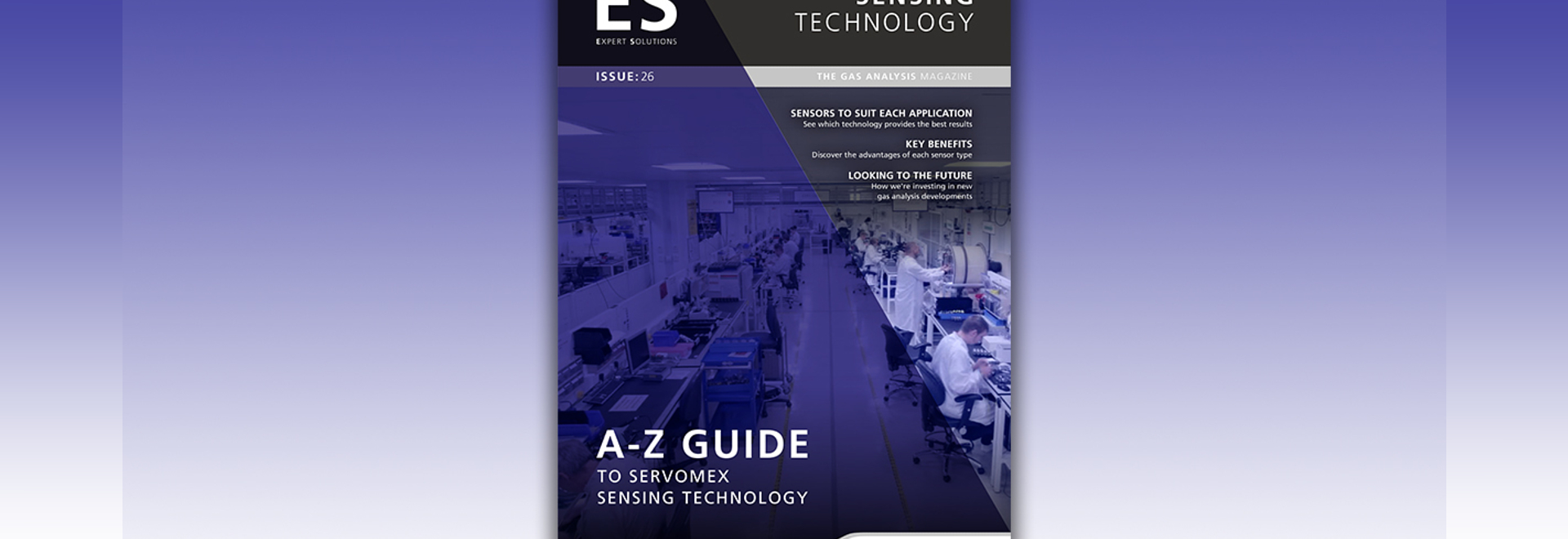 Our new A-Z guide to Servomex sensing technologies