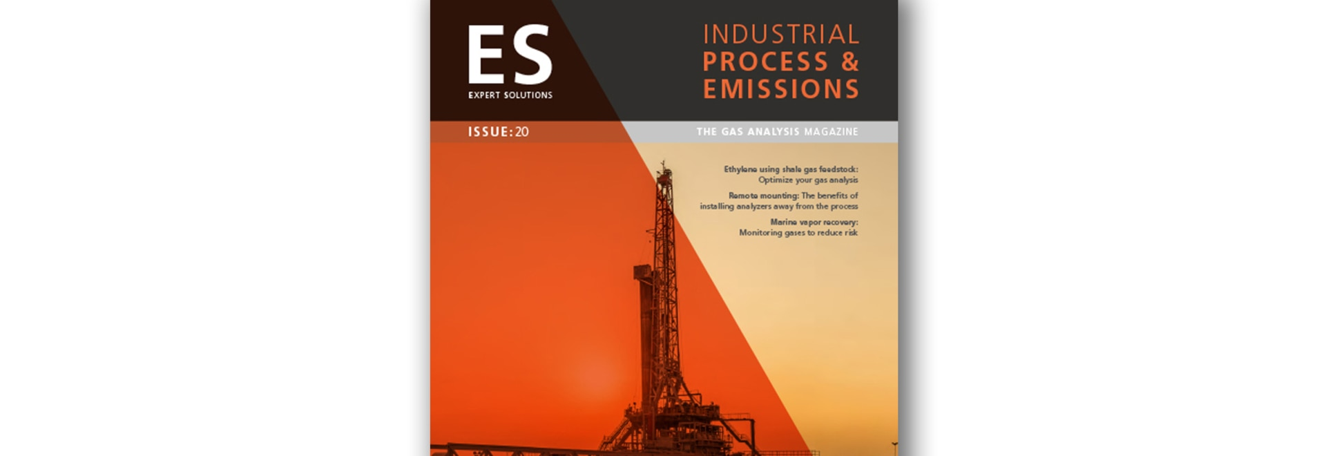 Our new Industrial Process and Emissions magazine is ready to download!