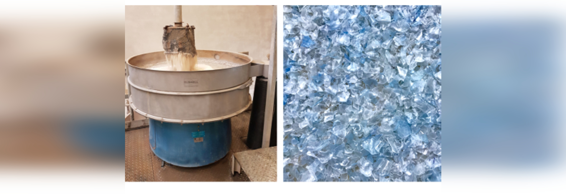 PFR Nord PET Plastic Recycling Separation from Washwater
