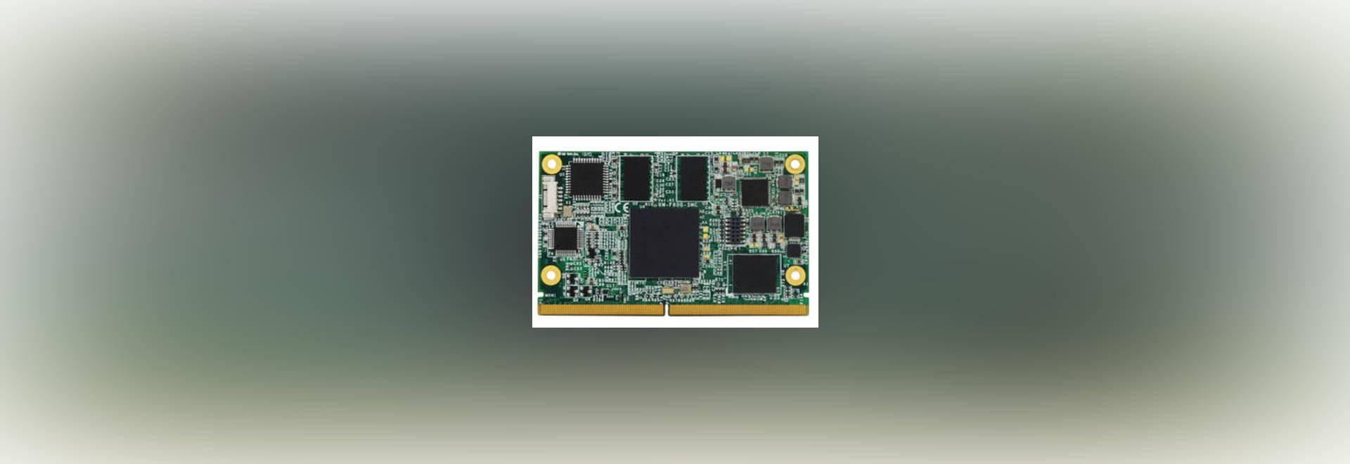 SFF SMARC Module supports ARM Cortex A9 i MX6 processors