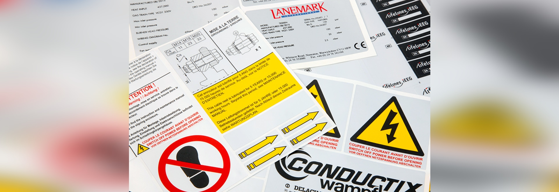 PRINTABLE LABEL SETS: CUT COSTS, SAVE TIME, REDUCE WASTE.