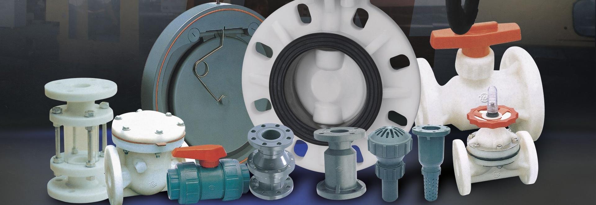 PVDF PVC RPP Plastic Valve