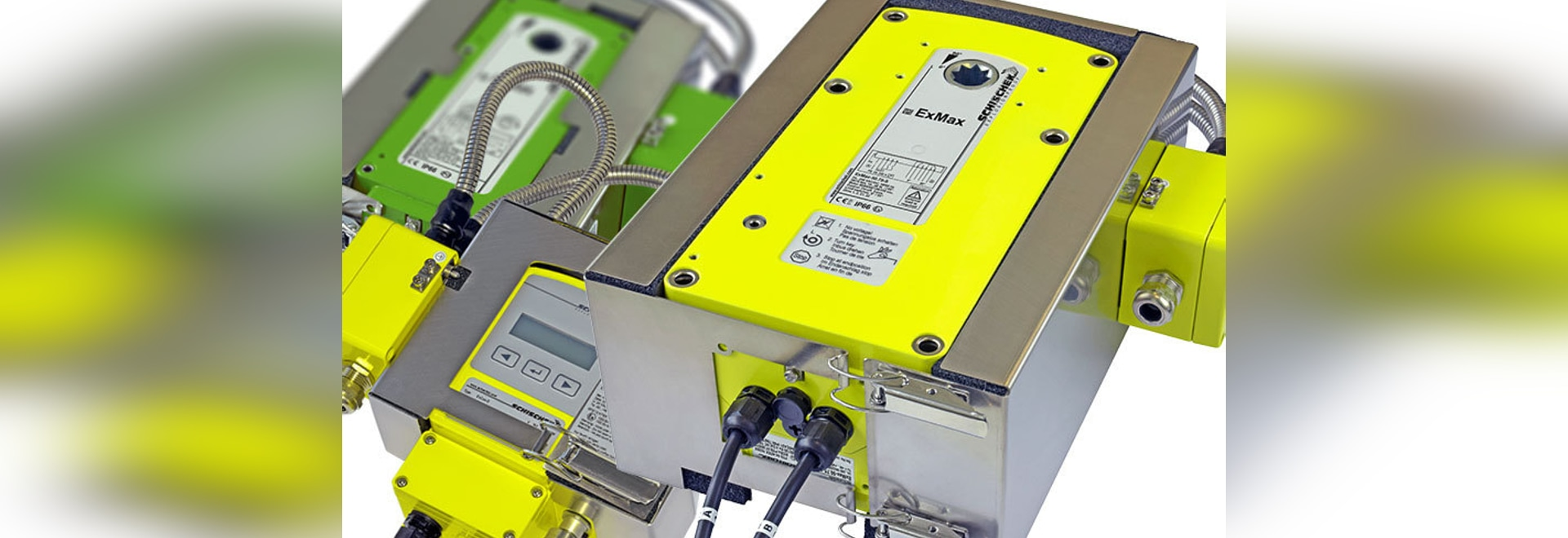 Retrofit heating system ExPolar/InPolar for Schischek actuators and sensors