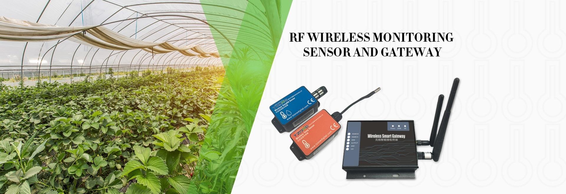 RF wireless temp (&RH) monitoring
