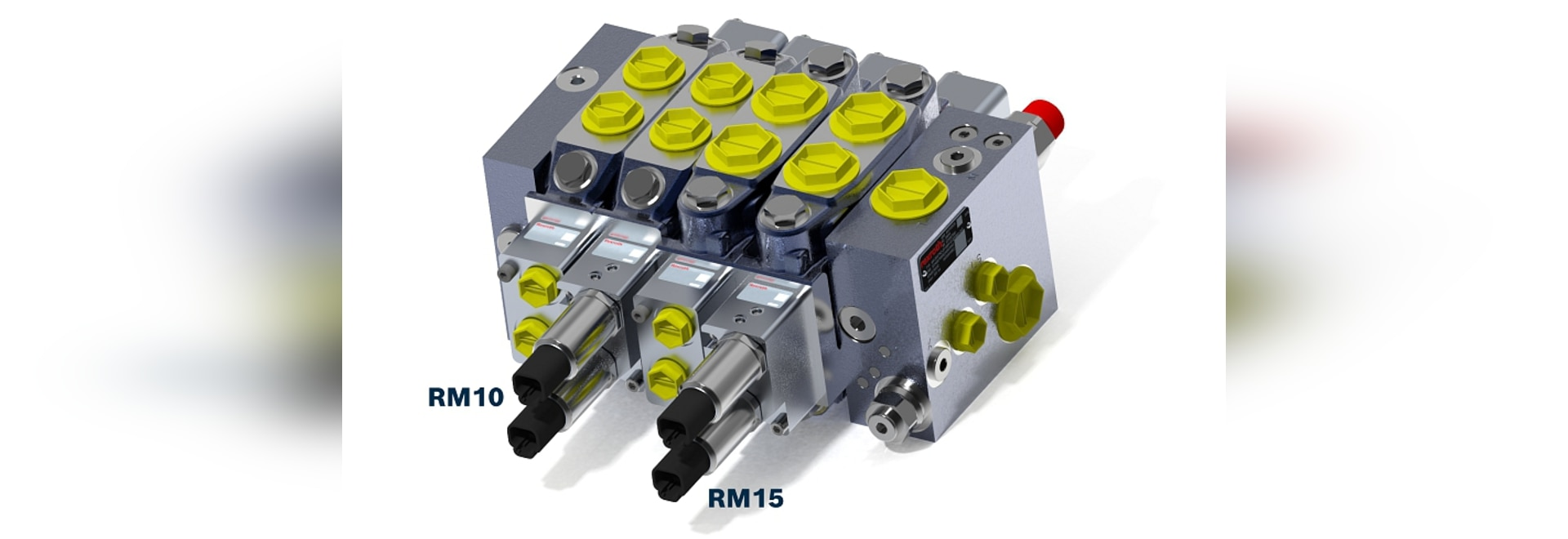 The RM10 and RM15 are compact, general purpose, multi-application load sense directional control valves.