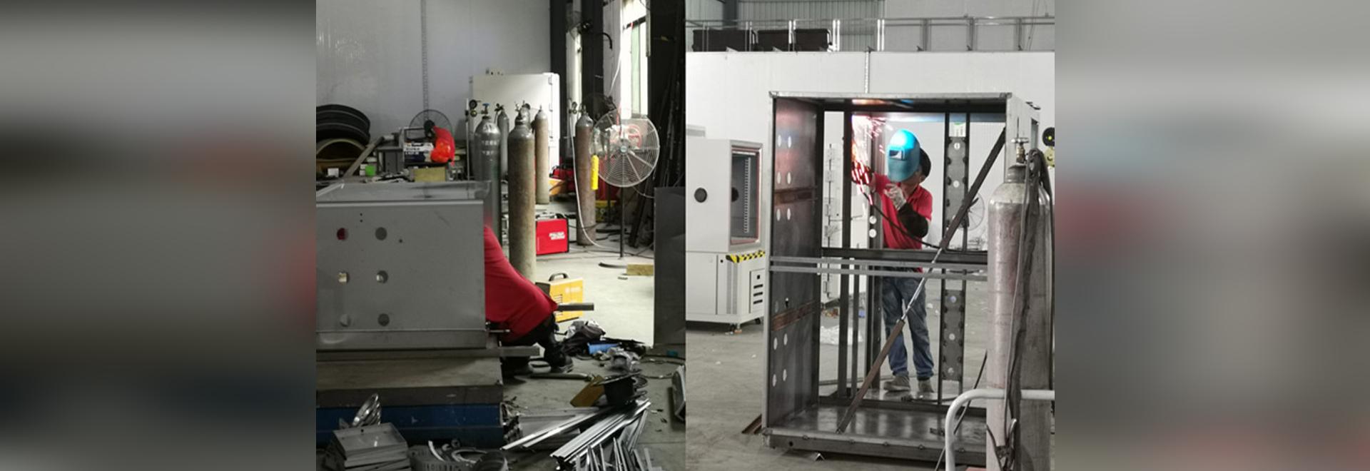 Sanwood Sheet metal department