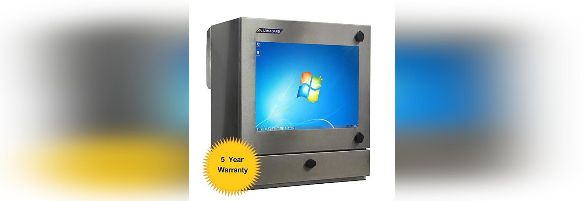 SENC-400 Waterproof Industrial Computer Enclosure – Watertight PC Protection for Wash Down Facilities