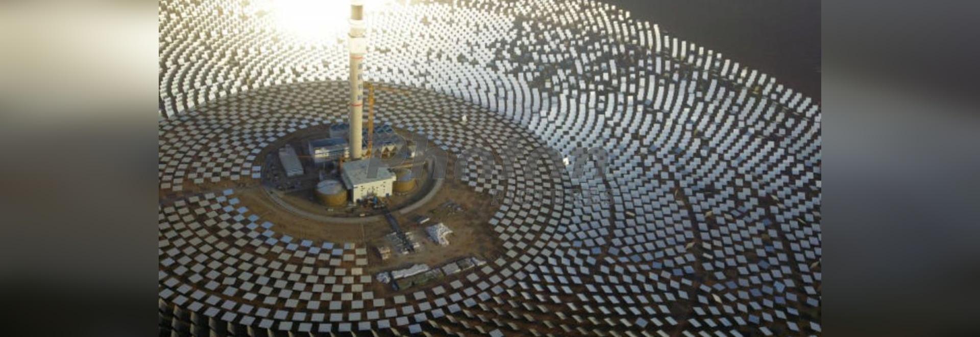 Shouhang Dunhuang 100 MW molten salt ower CSP project