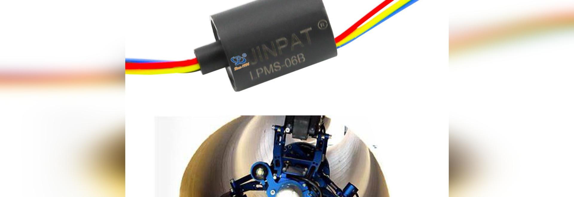 Slip Ring for Pipeline Inspection Robot