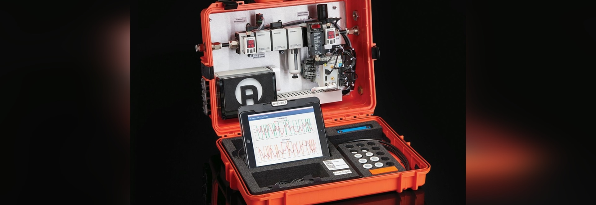 With the Smart Pneumatic Analyzer, Emerson can demonstrate to a user how easy it is to utilize IIoT in their facility.