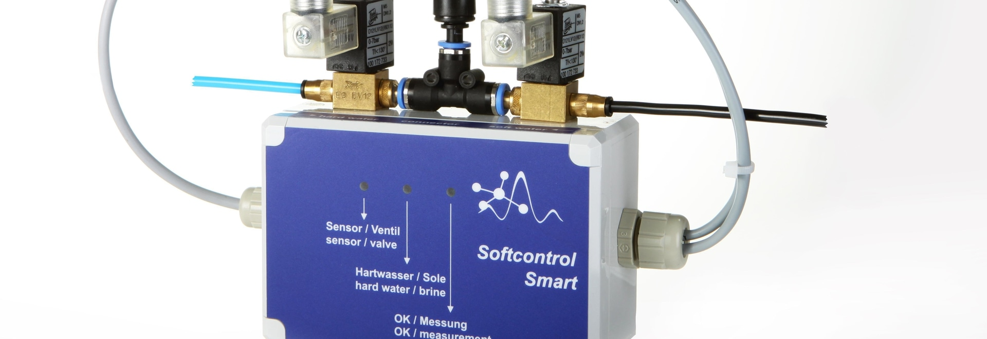 Softcontrol Smart for online water hardness monitoring