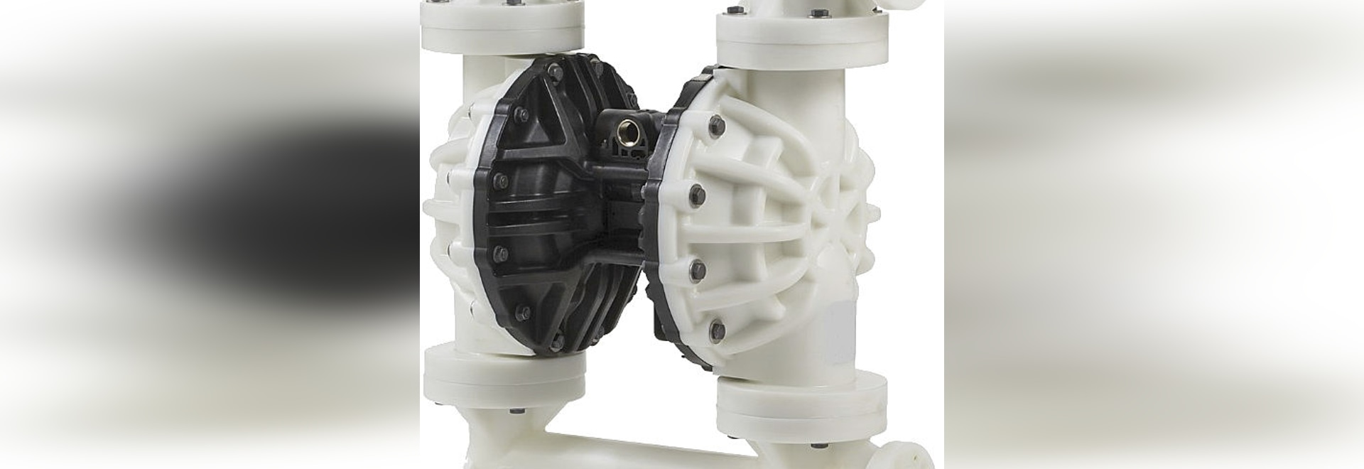 TECHNI-FLOW : AIR OPERATED DIAPHRAGM PUMPS TFG800 2ʺ  FOR CHEMICAL FLUIDS