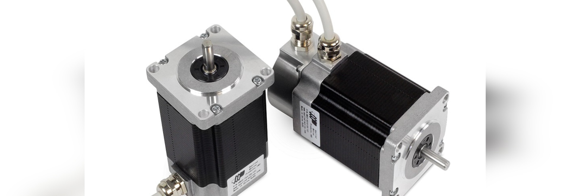 These IP65-rated step motors are available in NEMA sizes 23, 24 and 34.