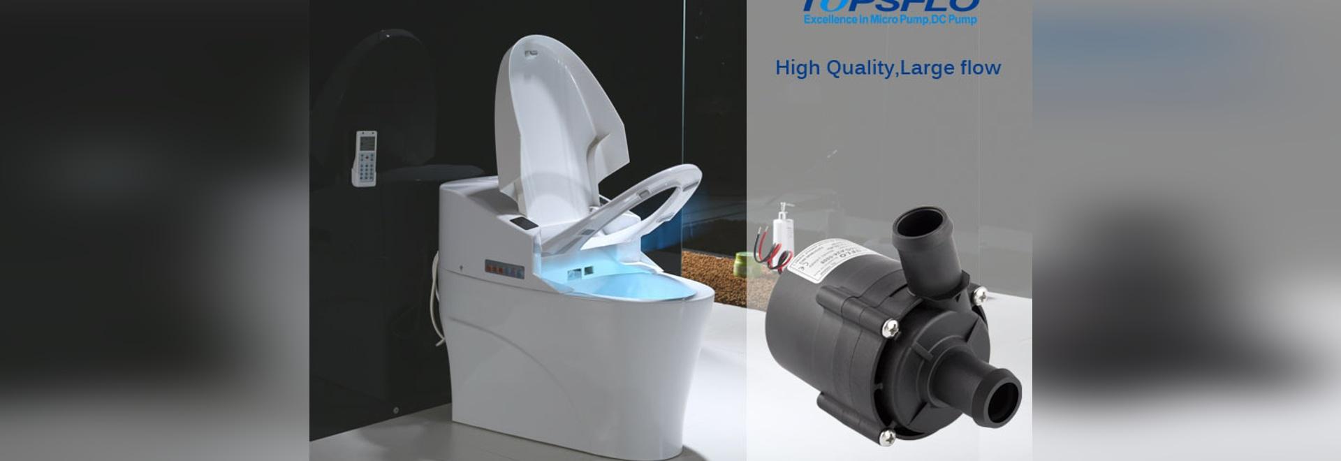 TOPSFLO High Flow Smart Toilet Water Pump
