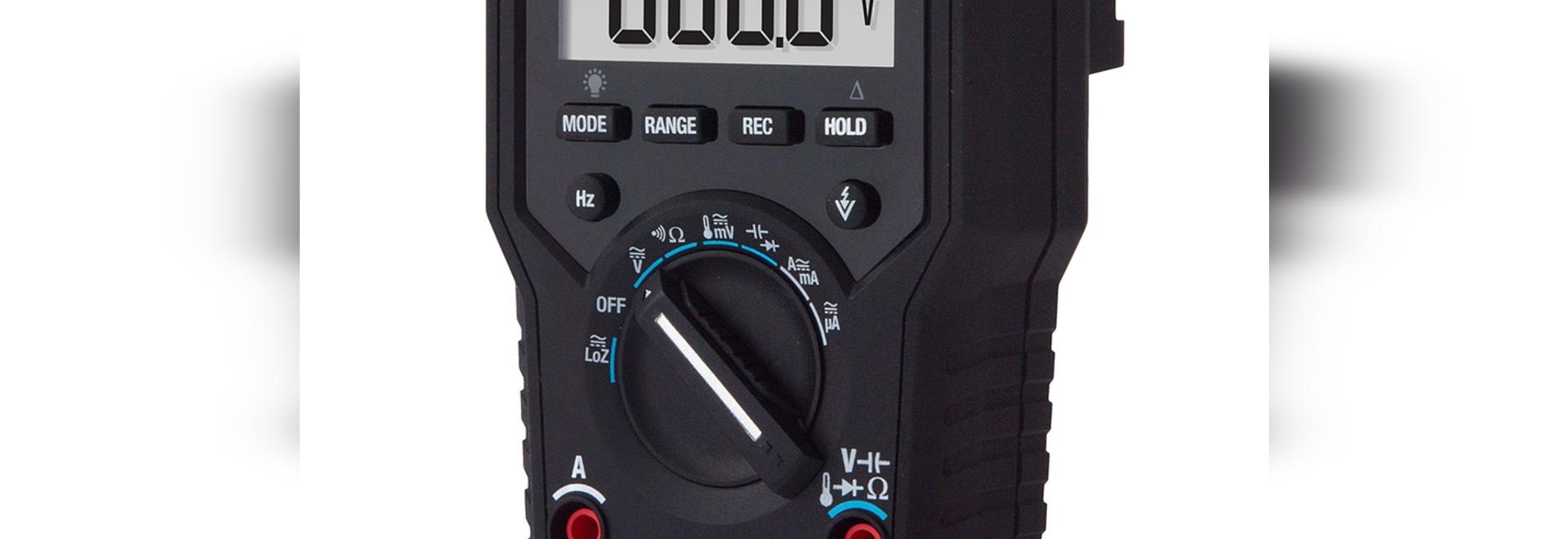 True-RMS Multimeter Includes VFD Mode