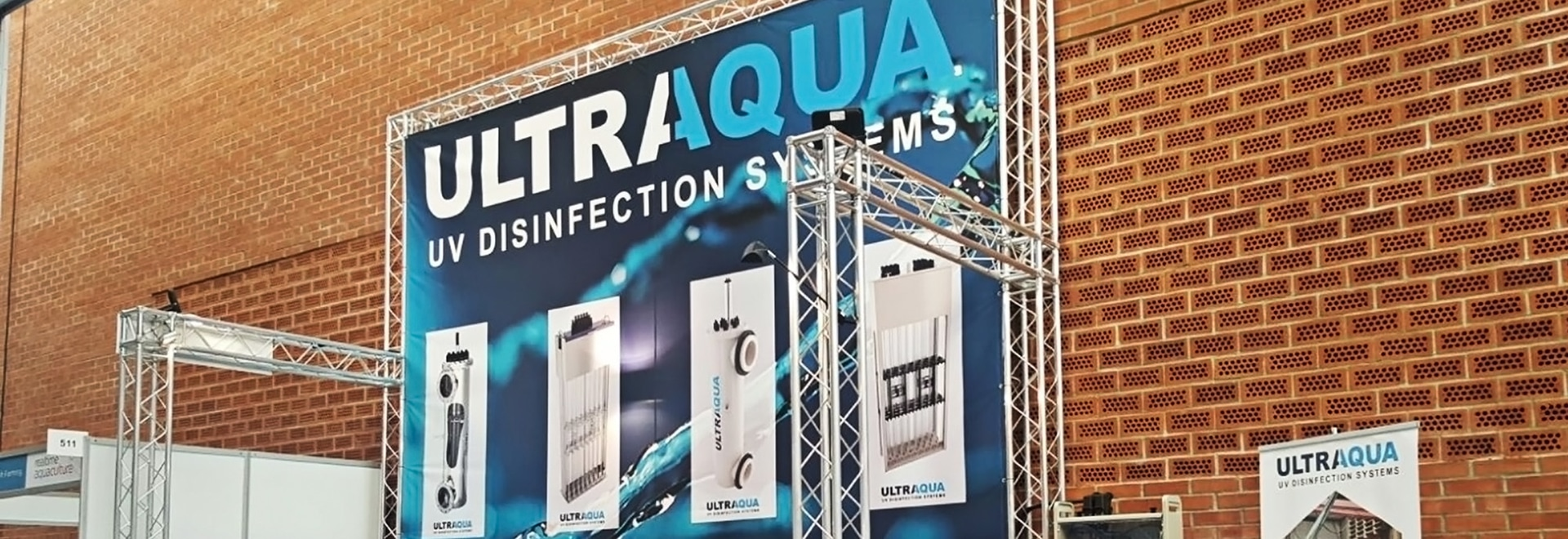 ULTRAAQUA's exhibition booth