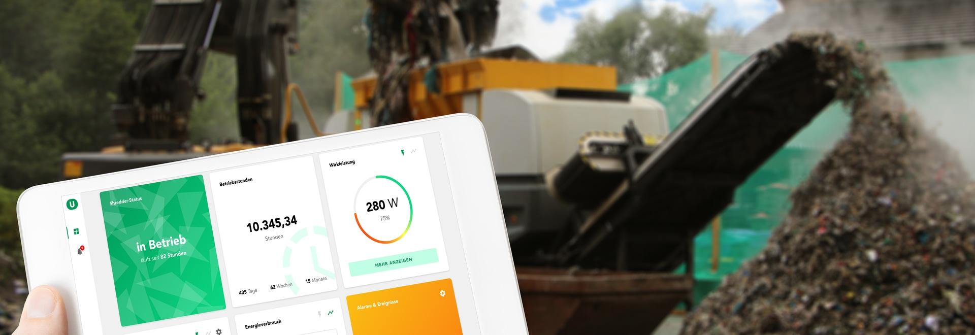UNTHA develops intelligent monitoring tools for its shredders