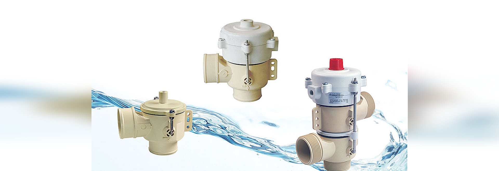 Vacuum controlled drain valves