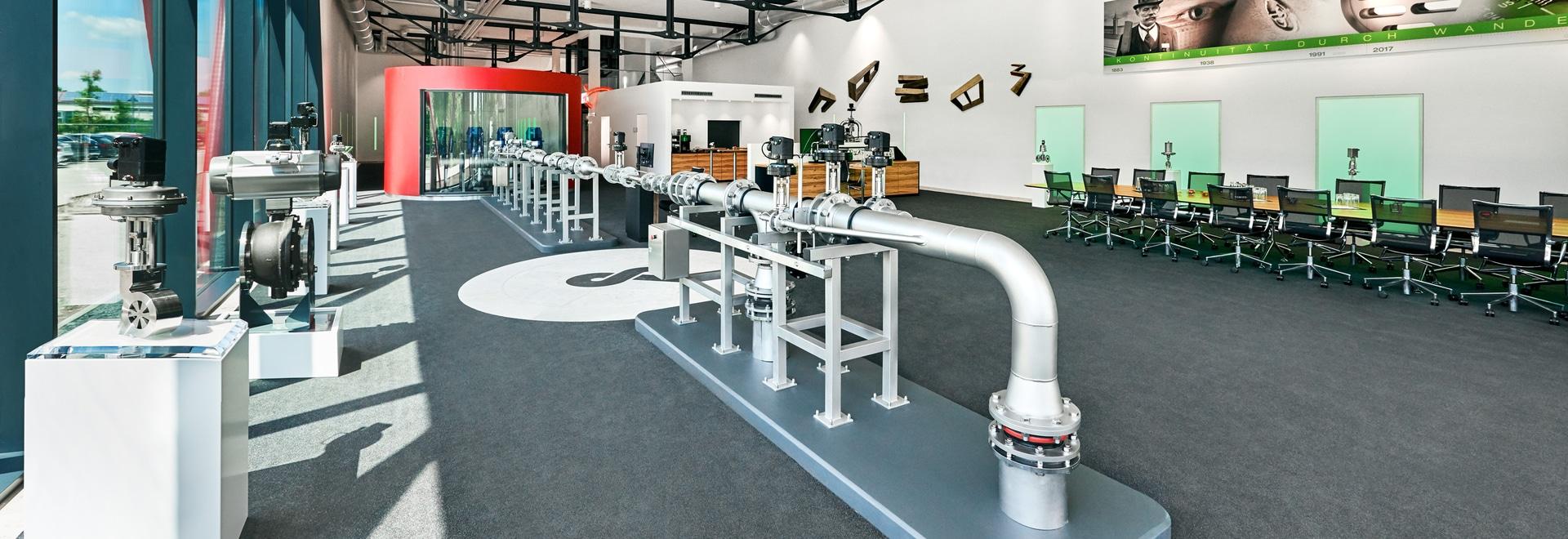 Valve Technology Training Centre Schubert & Salzer