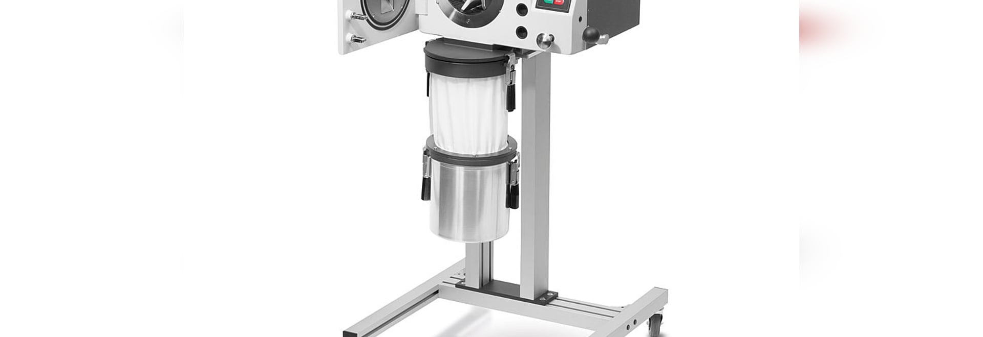 Variable speed and large sample volumes: RETSCH''s new rotor mills