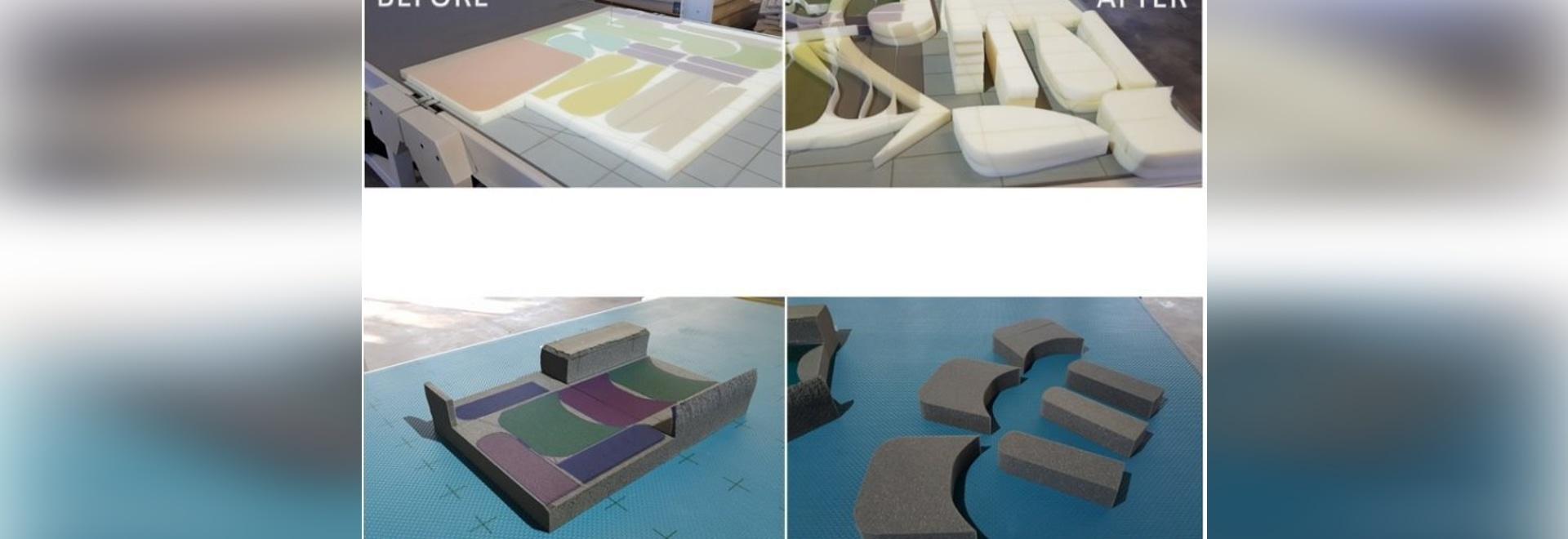 VCR Handy - Ready To Go mini vertical CNC cutting machine for foam