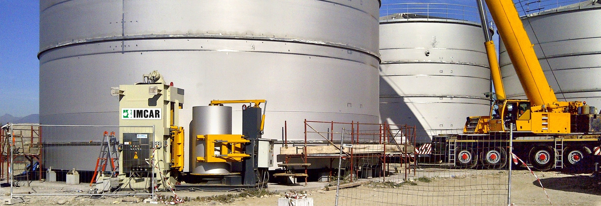 VERTICAL STATIONS FOR TANK PRODUCTION, TURNKEY TECHNOLOGY