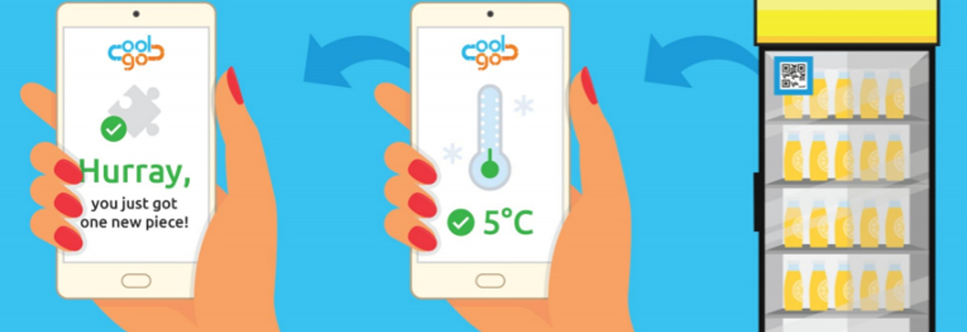 Want to drink a cold beer watching the World Cup? Blulog assures its quality and right temperature