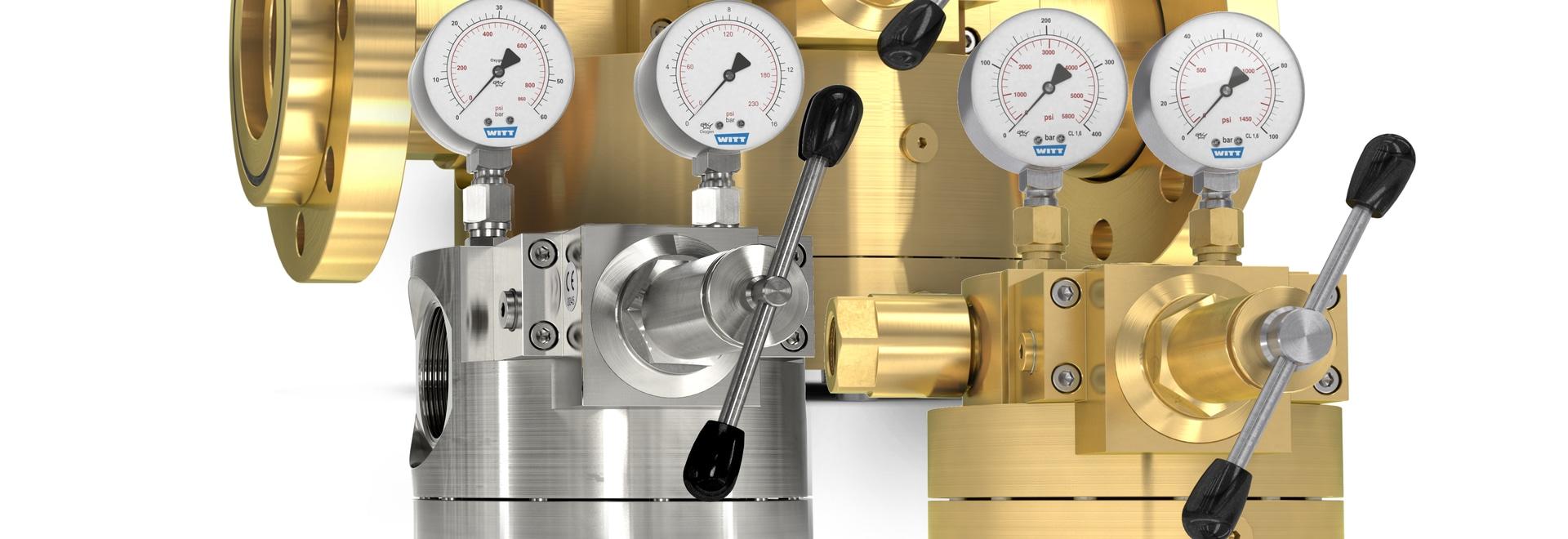 WITT dome-loaded pressure regulators