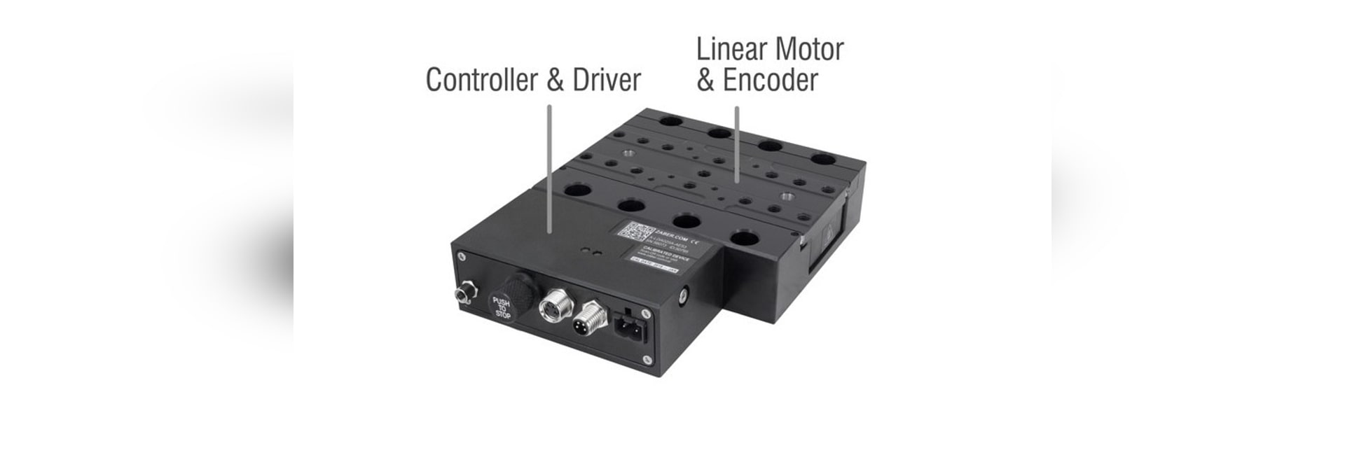 X-LDA-AE Linear Motor Stages with Built-in Controllers