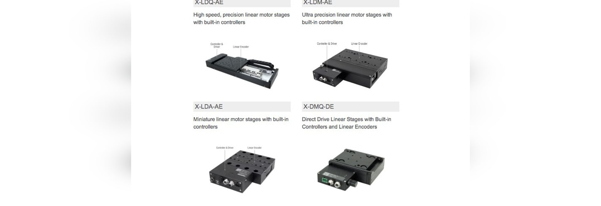 Zaber's Linear Motor Devices