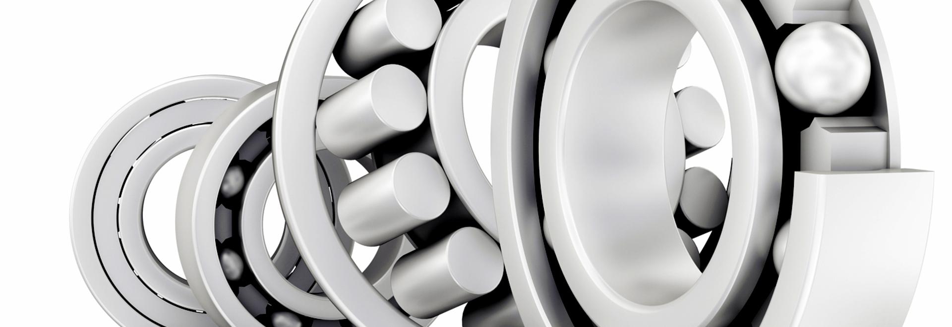 Zirconia Ceramic Radial Ball Bearings.