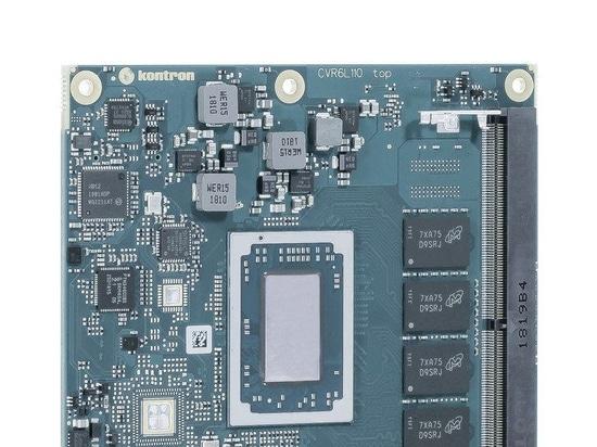 Kontron COM Express® Module with AMD Ryzen™ Embedded R1000 SoC