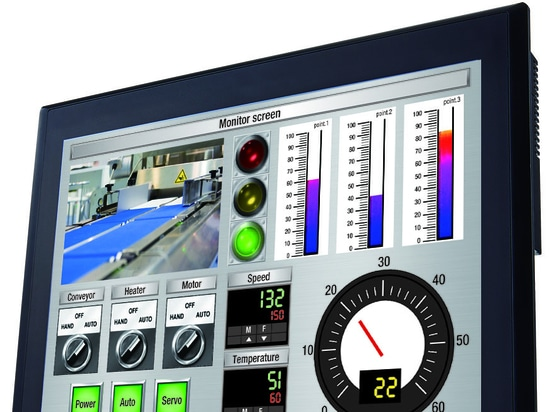 "IDEC releases HG5G-V 15"" human-machine interface (HMI) touchscreen"