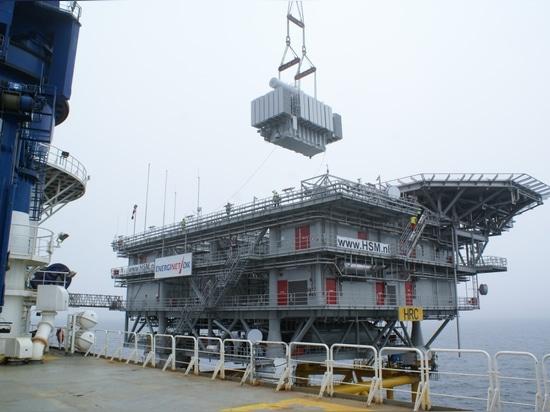 KOLEKTOR ETRA transformer for offshore wind platform in the North Sea SANERGRID