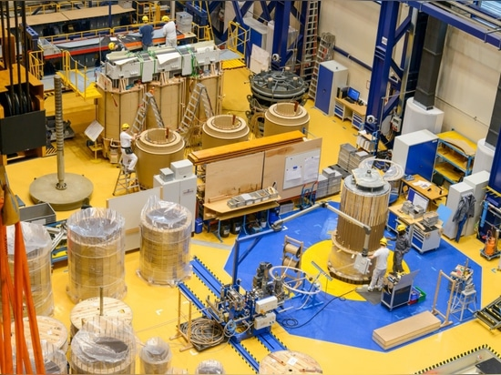 The assembly and assembly of the transformer tank KOLEKTOR ETRA is made under controlled atmosphere