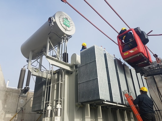 SANERGRID and KOLEKTOR ETRA have developed a service for installing power transformers