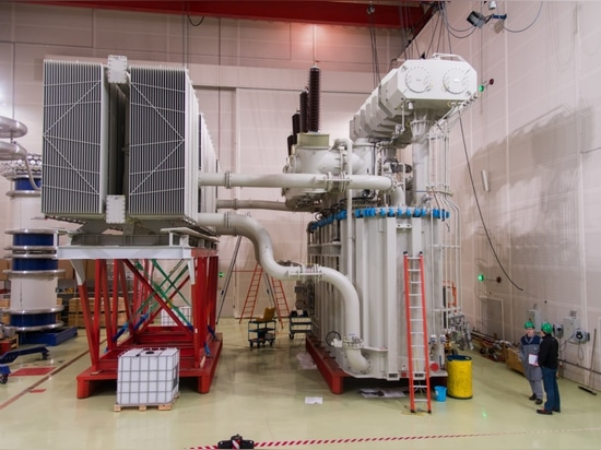 KOLEKTOR ETRA power transformer by SANERGRID for off-shore wind platform and underwater station