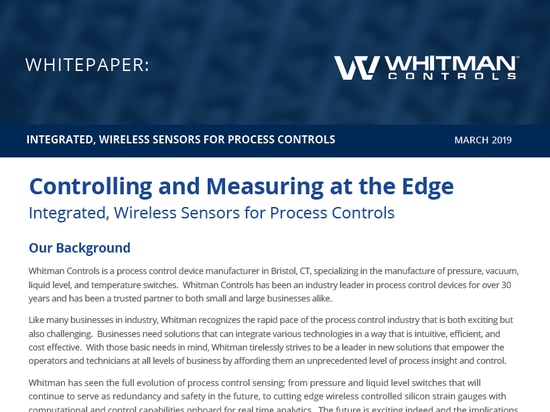 Controlling and Measuring at the Edge
