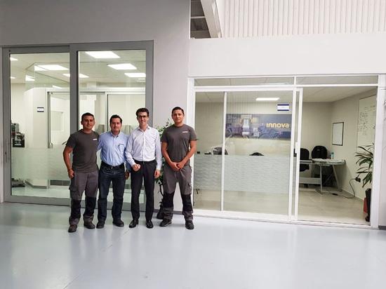 Innova's Mexican team