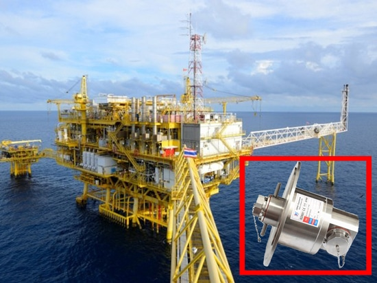 IP68Waterproof Slip Ring For Offshore Drilling