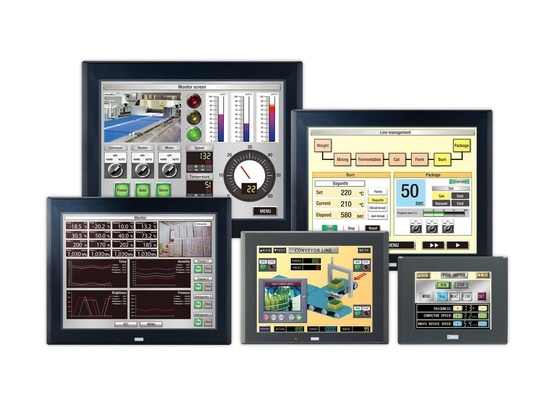 High-Performance HMIs with better screens, memory, and resolution