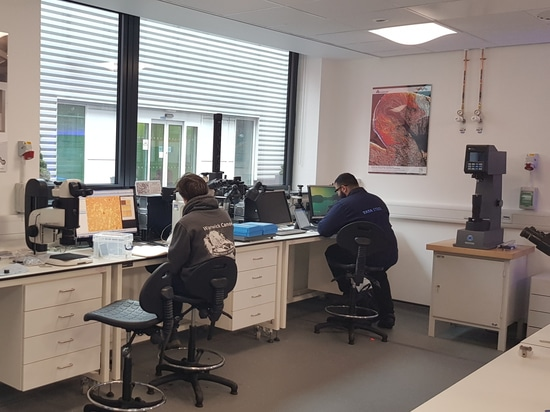 New Buehler Metallographic Laboratory on the campus of the University of Warwick/UK